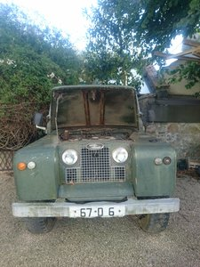 1967 Land Rover Series 2A long wheelbase