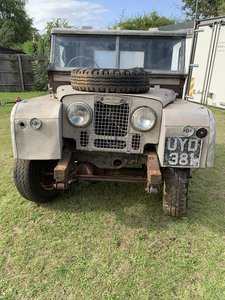 1955 Land Rover series 1 107 for restoration
