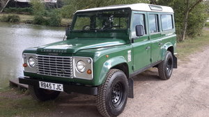 1997 LAND ROVER DEFENDER 110 2.5 300 tdi COUNTY LWB