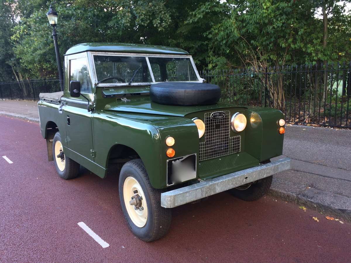 1959 landrover series 2 in stunning condition For Sale (picture 1 of 6)