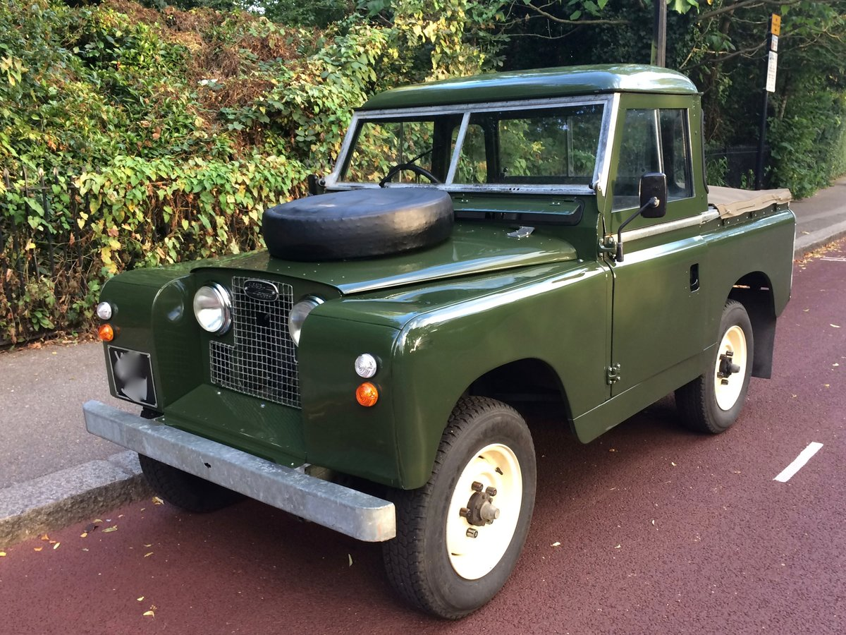 1959 landrover series 2 in stunning condition For Sale (picture 2 of 6)