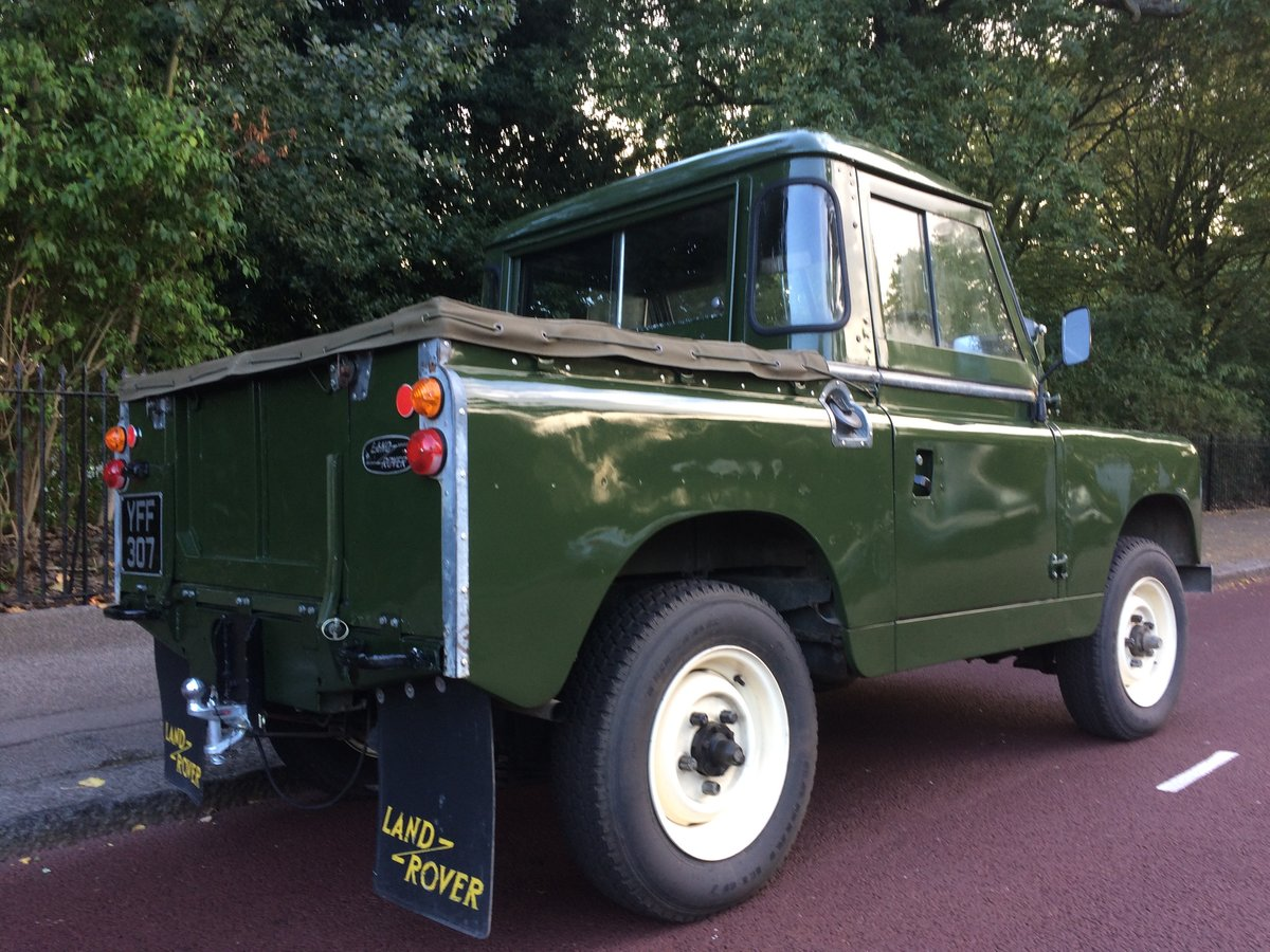 1959 landrover series 2 in stunning condition For Sale (picture 3 of 6)