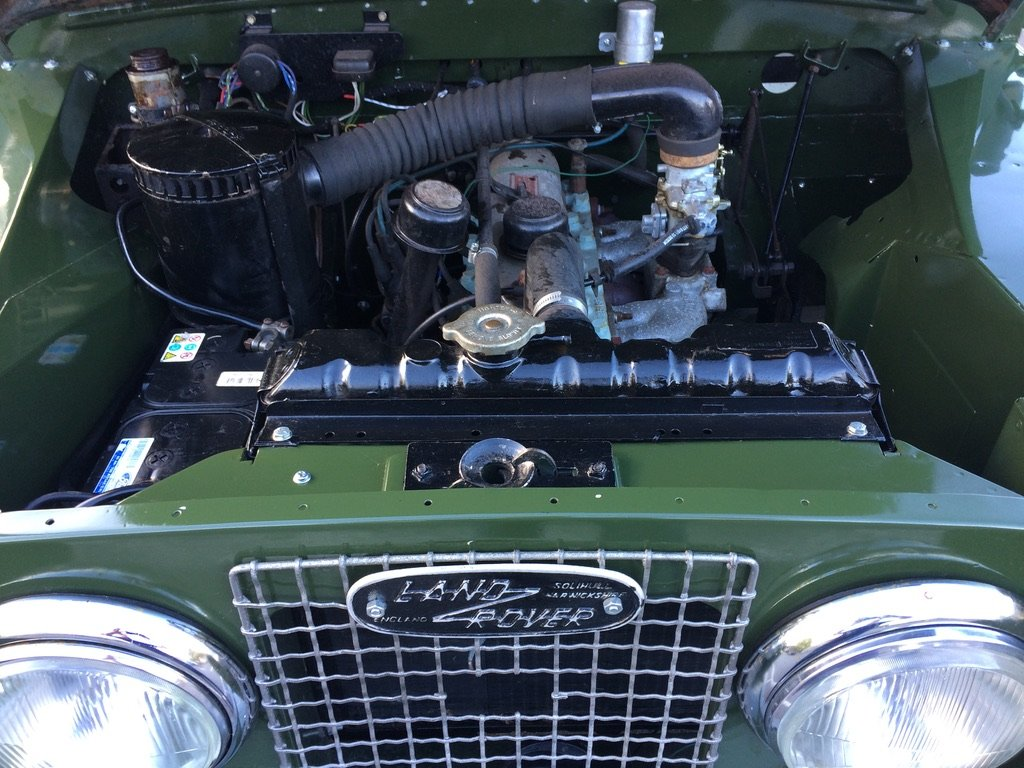 1959 landrover series 2 in stunning condition For Sale (picture 6 of 6)
