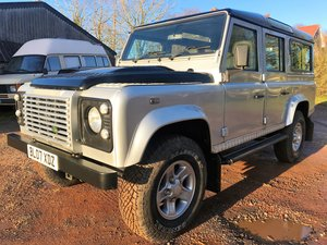 2007 Defender 110 TDCi XS station waqon +good history 75000m