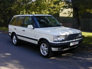 2000 RANGE ROVER P38 4.6 HSE RHD - COLLECTOR QUALITY! For Sale