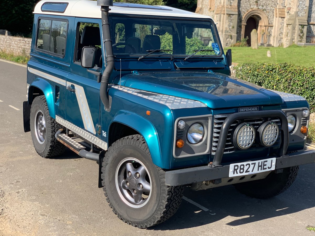 1998 Land rover 90 defender 300 tdi  SOLD (picture 1 of 6)