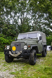 1973 LANDROVER LIGHTWEIGHT UTILITY VEHICLE