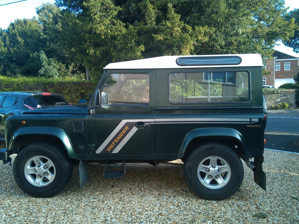 1993 Land Rover Defender 90 Genuine County VGC For Sale (picture 2 of 6)