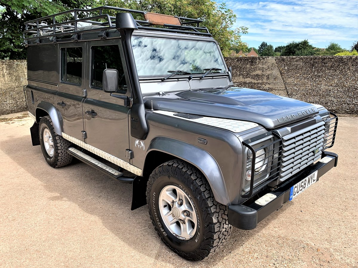 2008 high spec 08/58 Defender 110 TDCi XS utility+85000m 2 owner SOLD (picture 1 of 6)
