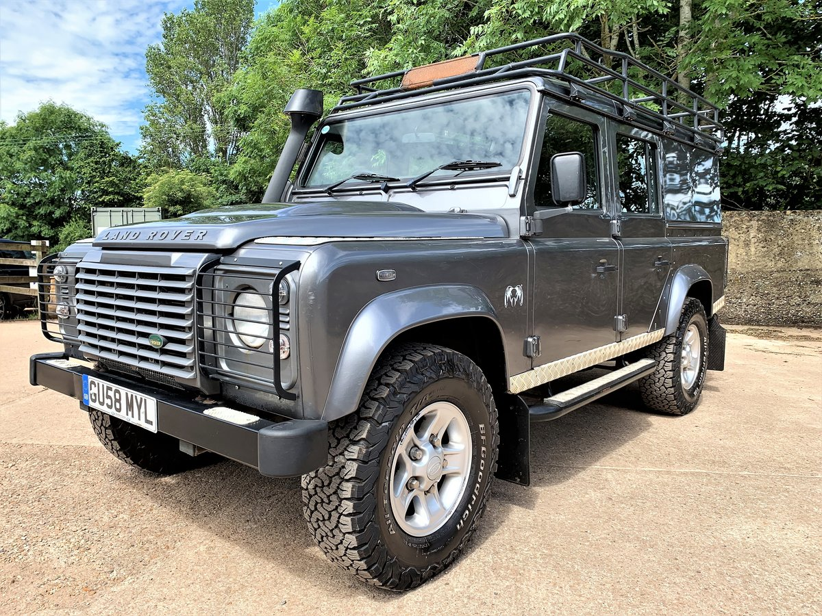 2008 high spec 08/58 Defender 110 TDCi XS utility+85000m 2 owner SOLD (picture 2 of 6)