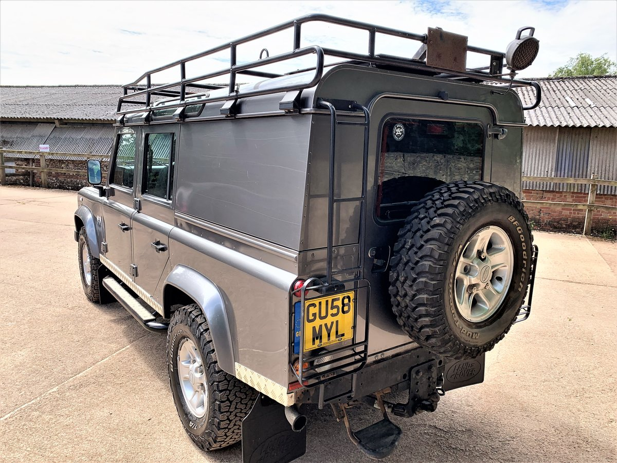 2008 high spec 08/58 Defender 110 TDCi XS utility+85000m 2 owner SOLD (picture 4 of 6)