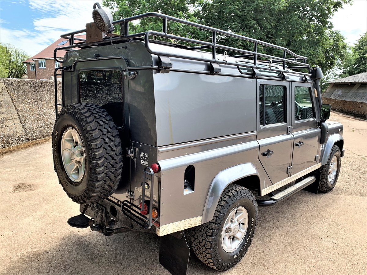 2008 high spec 08/58 Defender 110 TDCi XS utility+85000m 2 owner SOLD (picture 5 of 6)