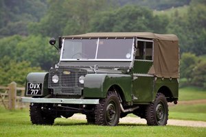 "1949 Land Rover Series 1 80"" For Sale"