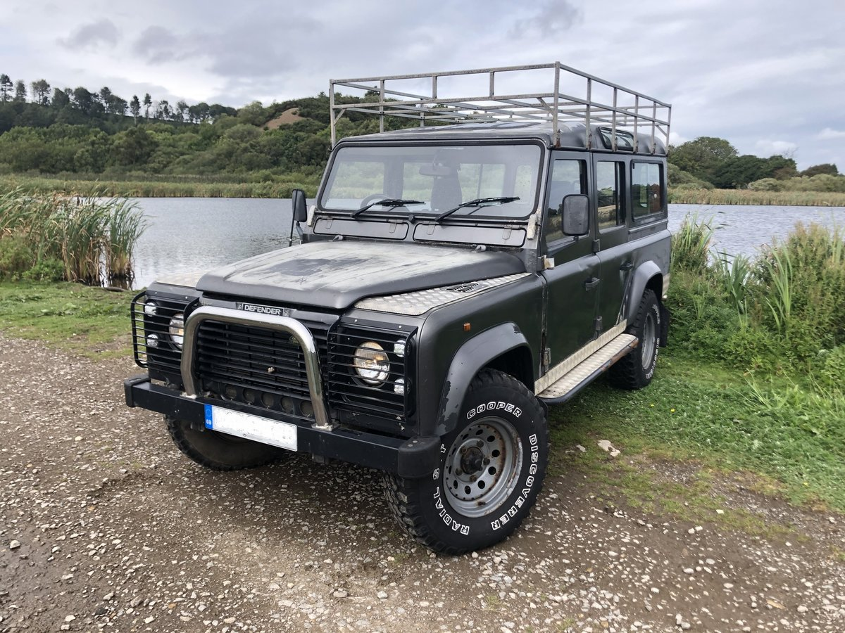 1984 Land Rover Defender 110, Automatic, Galvanised chassis For Sale (picture 1 of 6)