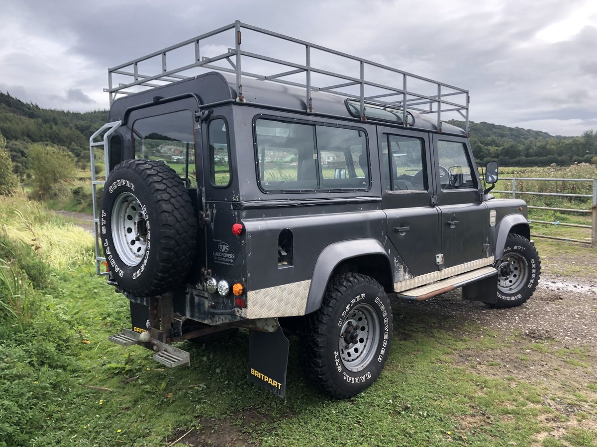 1984 Land Rover Defender 110, Automatic, Galvanised chassis For Sale (picture 2 of 6)