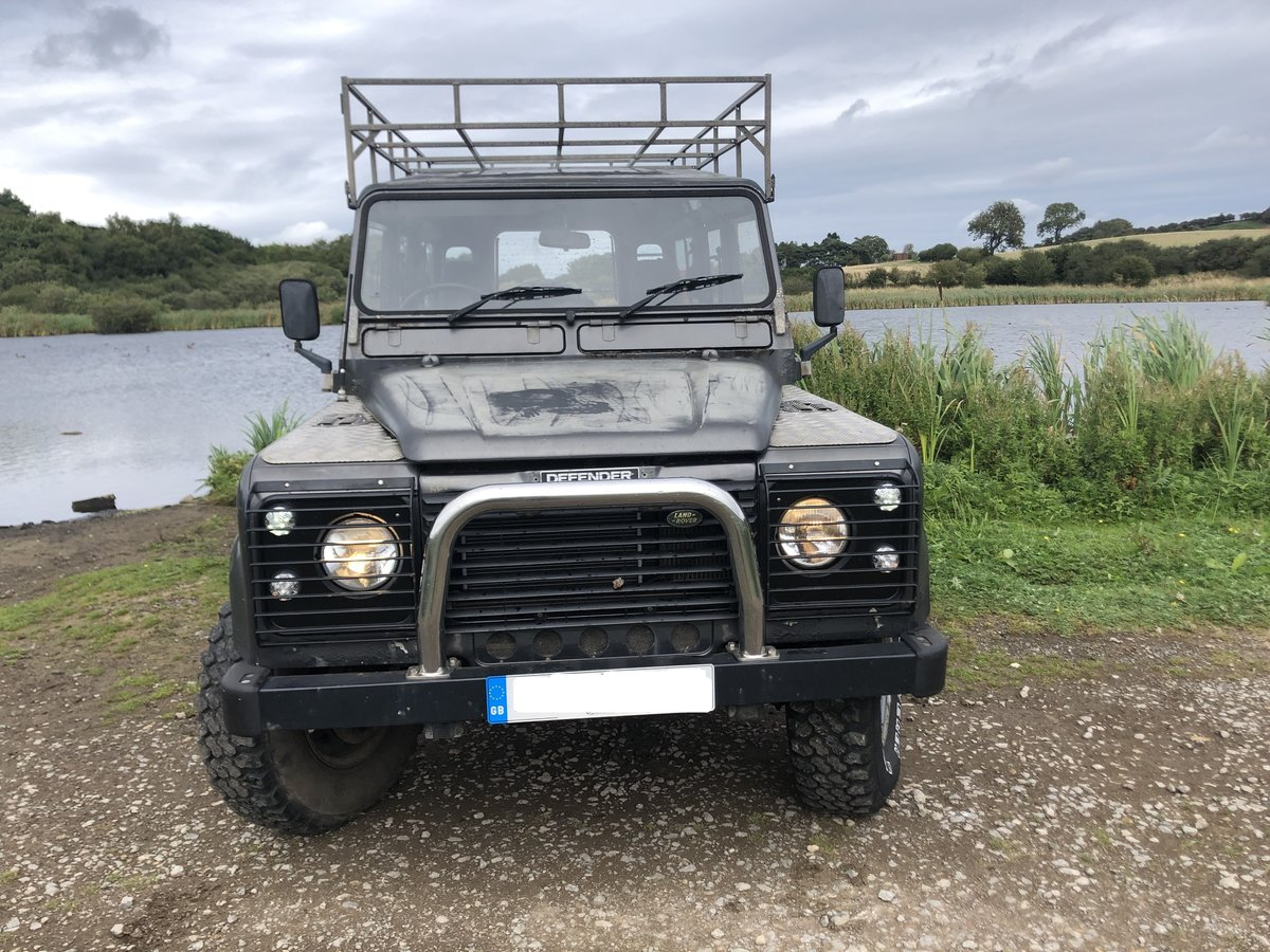 1984 Land Rover Defender 110, Automatic, Galvanised chassis For Sale (picture 3 of 6)