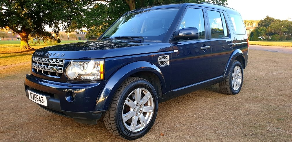 2011 LHD DISCOVERY 4, 3.0 SDV6 SE, 4X4, 7 SEATER LEFT  HAND DRIVE For Sale (picture 3 of 6)