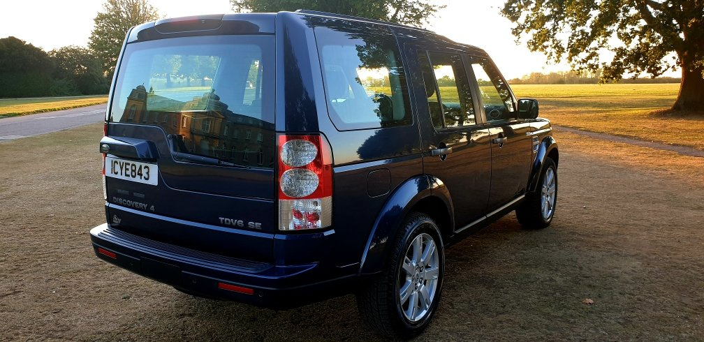 2011 LHD DISCOVERY 4, 3.0 SDV6 SE, 4X4, 7 SEATER LEFT  HAND DRIVE For Sale (picture 4 of 6)