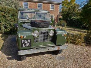 1960 Land Rover Series II 88 Petrol Model