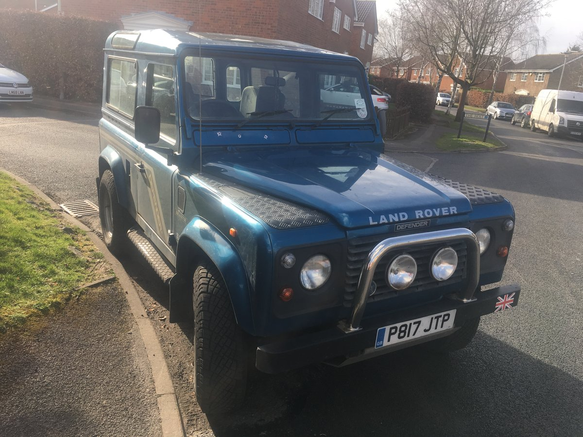 1997 Land Rover Defender County 90 Vintage  For Sale (picture 1 of 6)