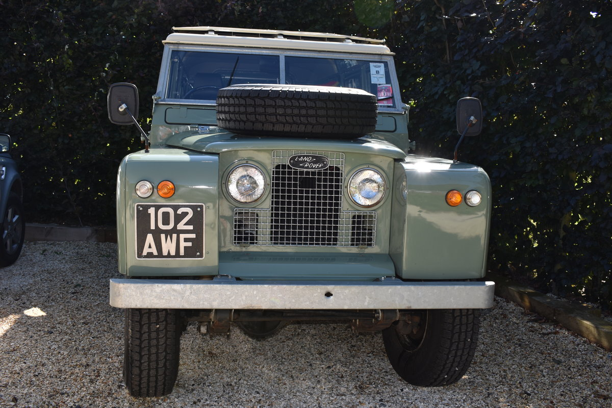 1963 Land Rover Series 2A (galvanised) Rebuilt  For Sale (picture 1 of 5)