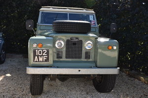 1963 Land Rover Series 2A (galvanised) Rebuilt