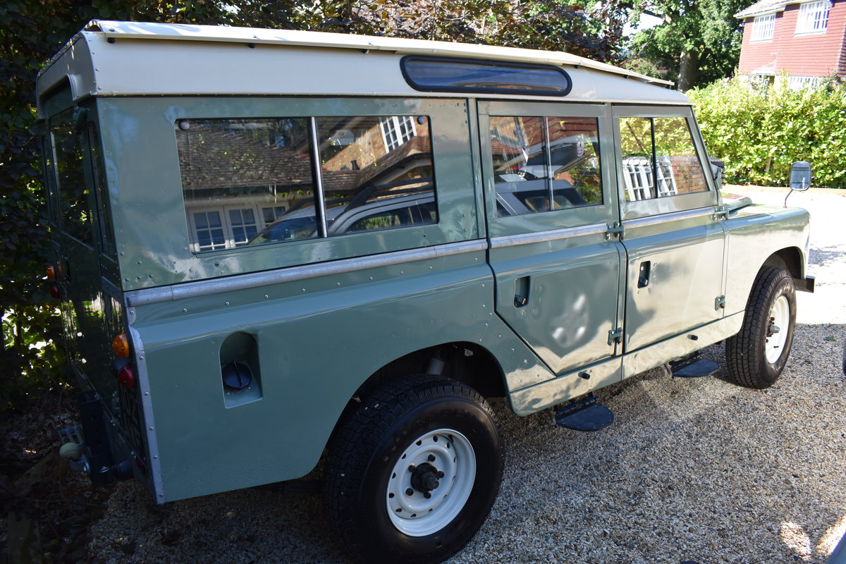 1963 Land Rover Series 2A (galvanised) Rebuilt  For Sale (picture 3 of 5)