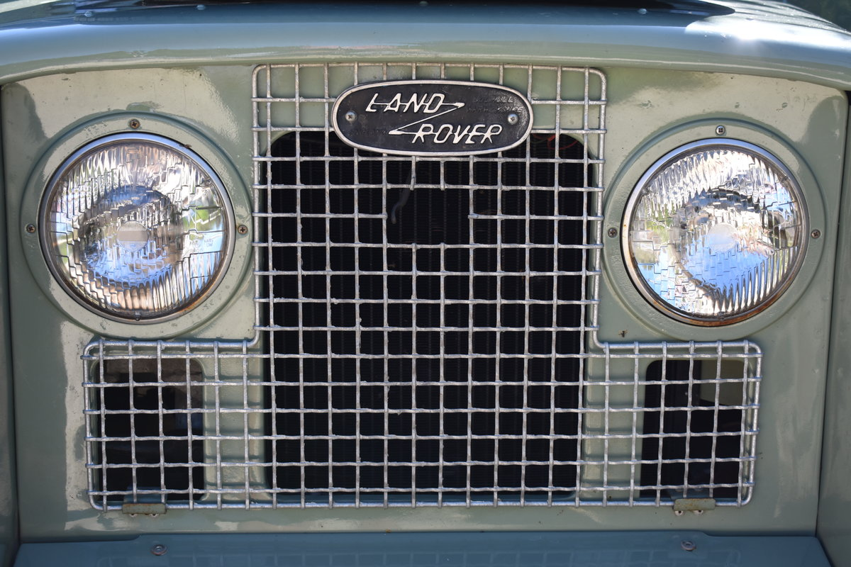 1963 Land Rover Series 2A (galvanised) Rebuilt  For Sale (picture 4 of 5)