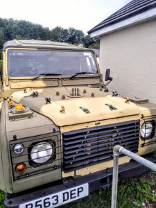 1997 LANDROVER 110 WOLF
