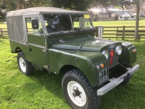 1957 Land Rover Series One 200Tdi