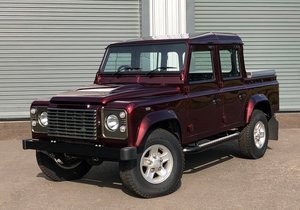 2013 Land Rover Defender 110 Double Cab