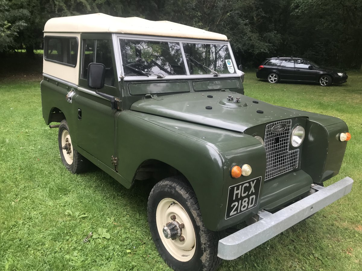 1966 Land Rover Series 2a 88 SOLD (picture 1 of 6)
