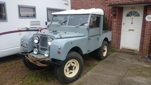 1955 Landrover series one V8 For Sale (picture 1 of 6)