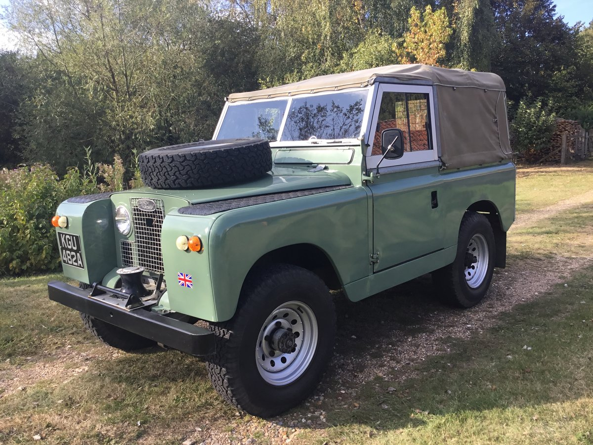 1963 Land Rover Series 2A Soft top Petrol. For Sale (picture 2 of 6)