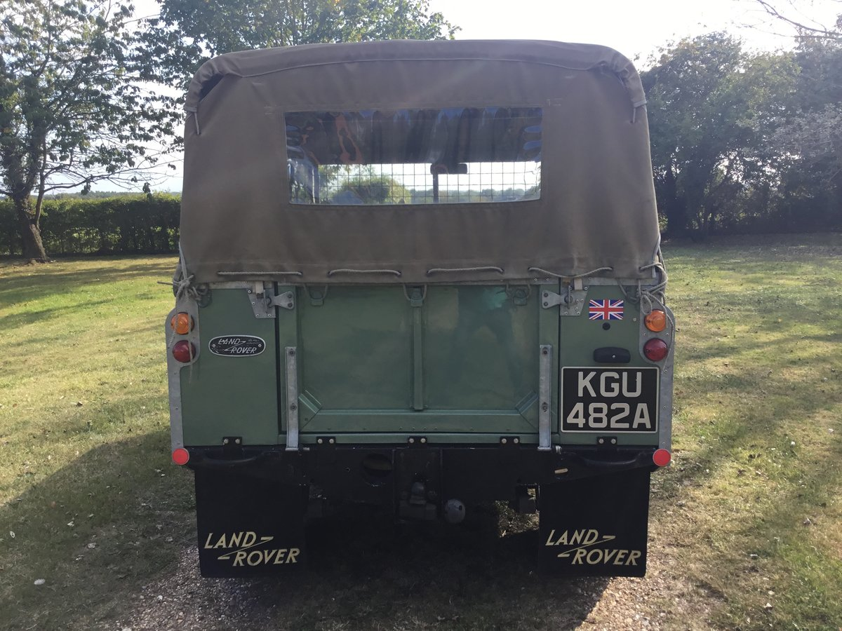 1963 Land Rover Series 2A Soft top Petrol. For Sale (picture 3 of 6)
