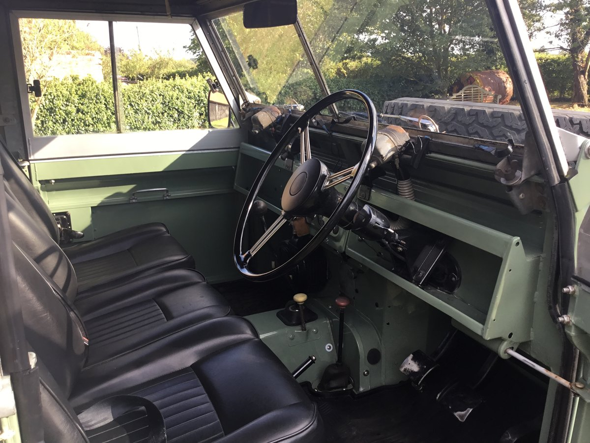 1963 Land Rover Series 2A Soft top Petrol. For Sale (picture 4 of 6)