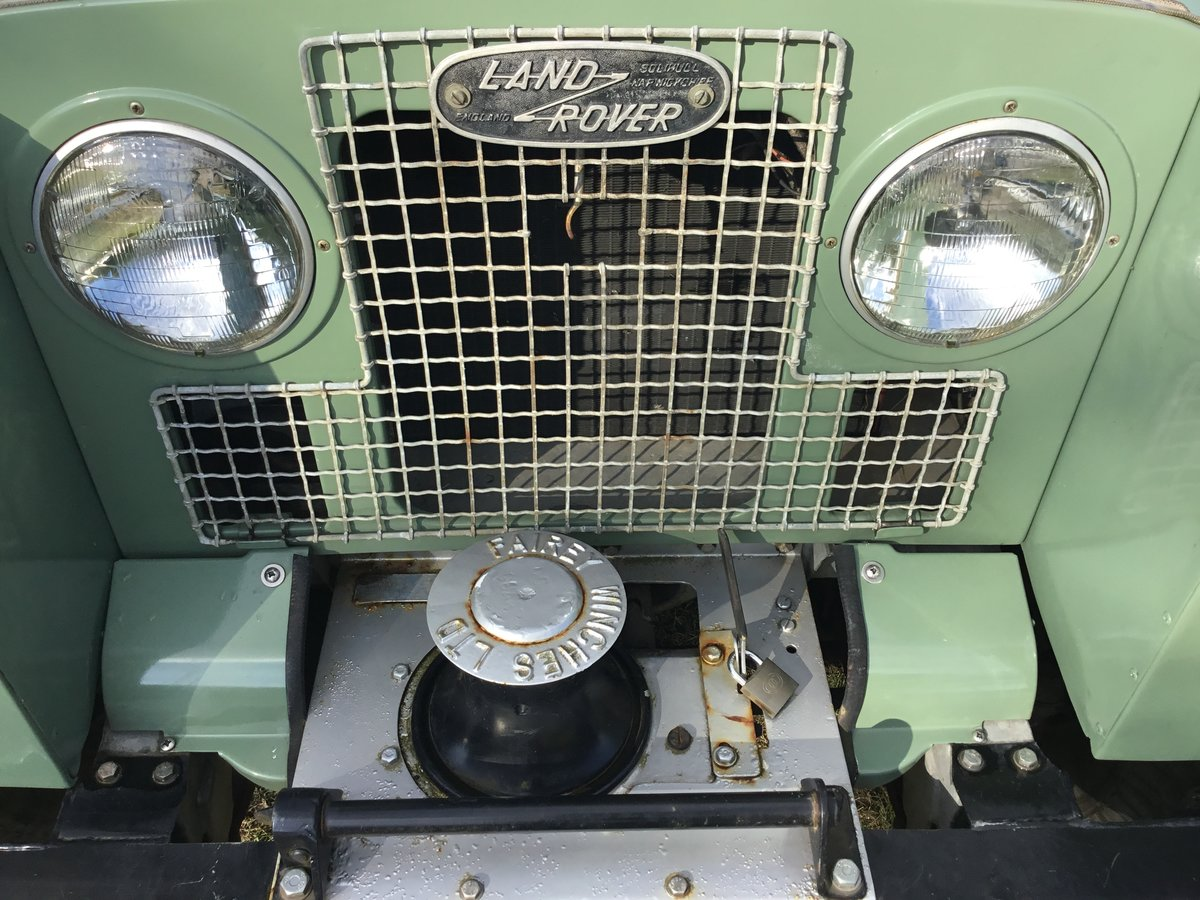 1963 Land Rover Series 2A Soft top Petrol. SOLD (picture 5 of 6)