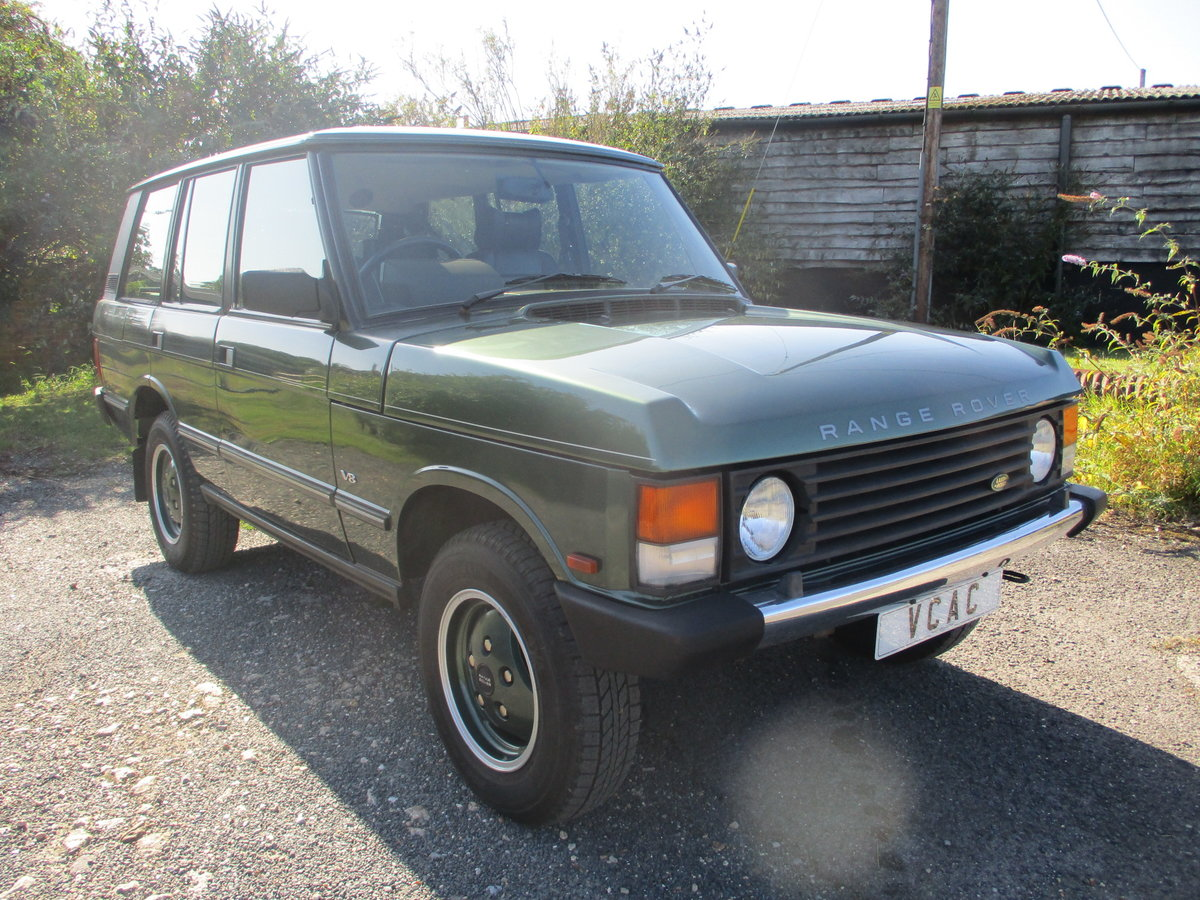 1994 Range Rover V8 Classic Automatic SOLD (picture 1 of 6)