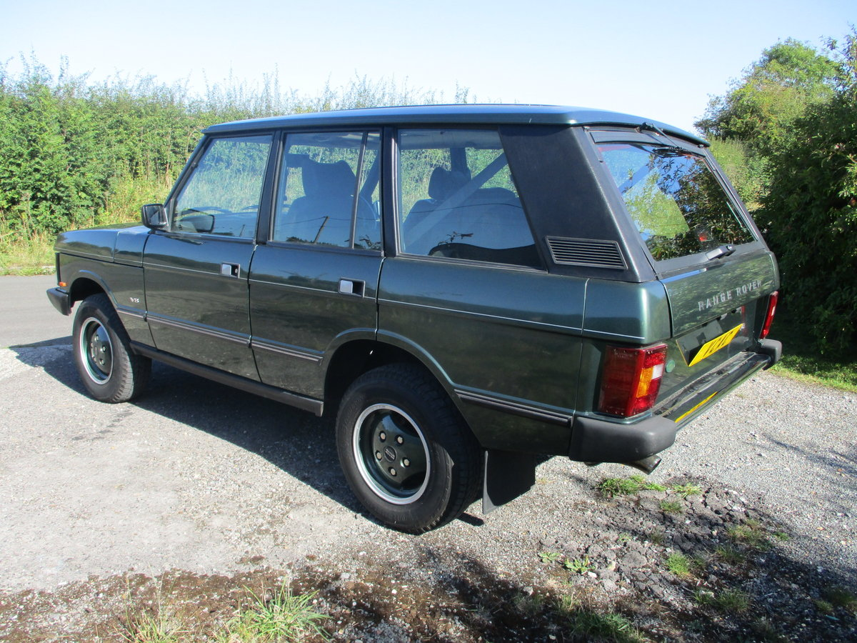 1994 Range Rover V8 Classic Automatic SOLD (picture 3 of 6)
