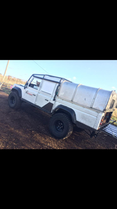 1989 Land Rover Defender 130 double cab TD5