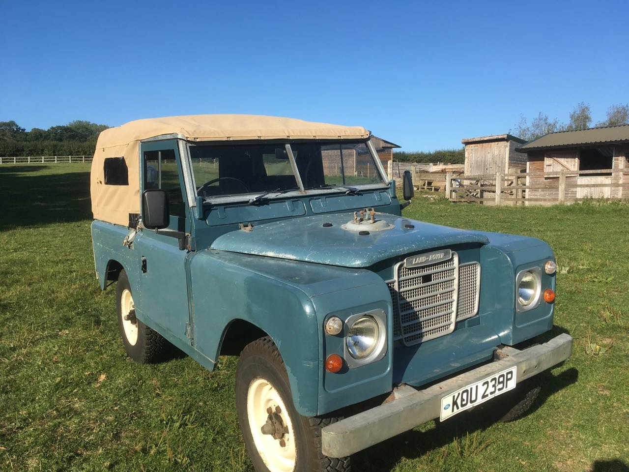 1975 Land Rover SIII with 200tdi Sold Deposit received SOLD (picture 1 of 6)