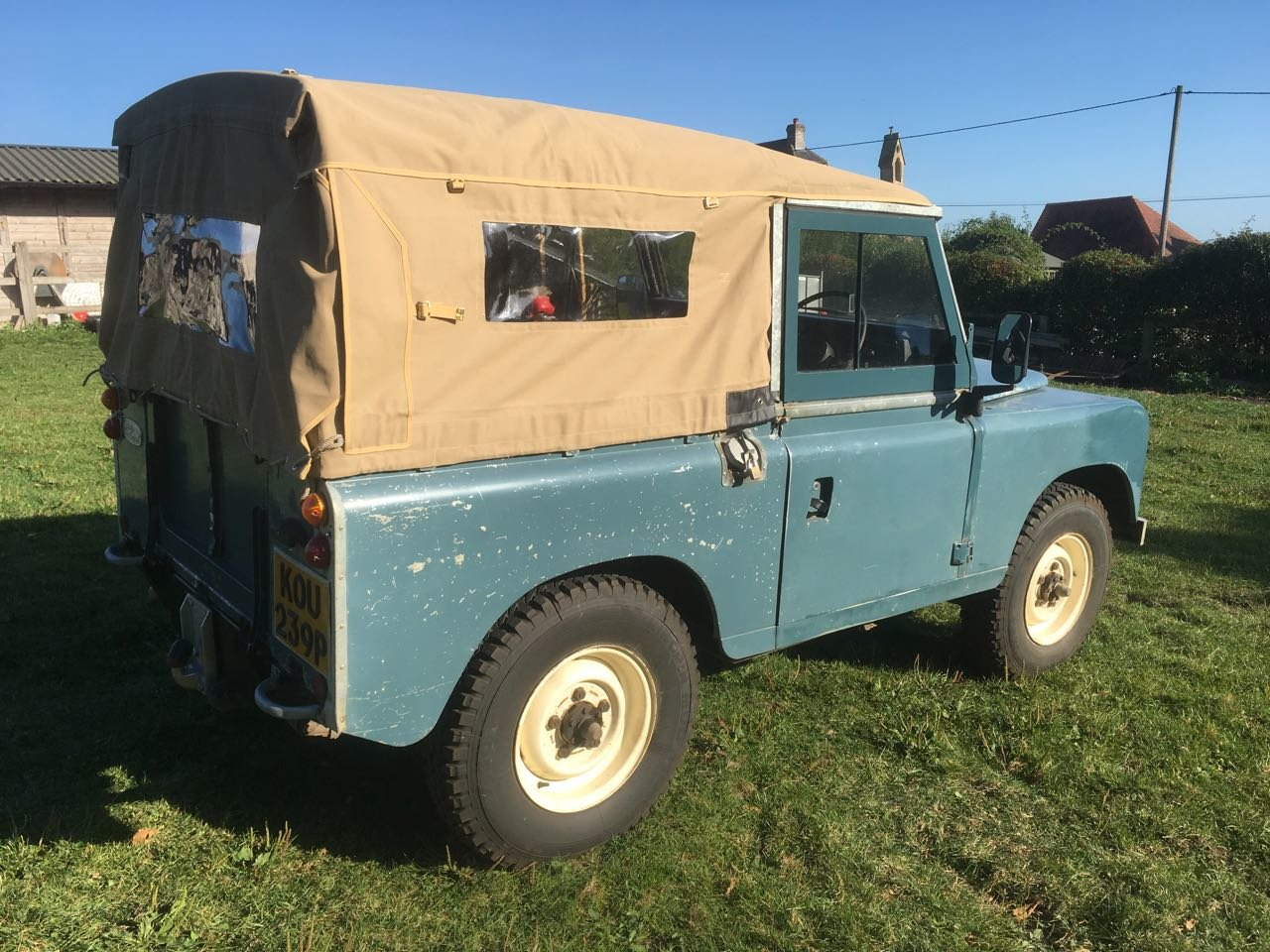 1975 Land Rover SIII with 200tdi Sold Deposit received SOLD (picture 3 of 6)