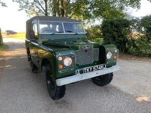 1971 Land Rover ® Series 2a *Galvanised Chassis* (TKY)