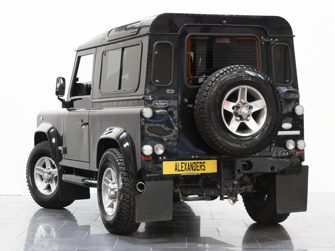 2008 08 58 LAND ROVER DEFENDER 90 SVX 60TH ANNIVERSARY EDITION For Sale (picture 3 of 6)