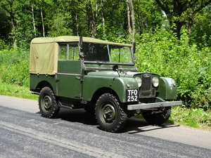 "1952 LandRover 80"" very original true gem"