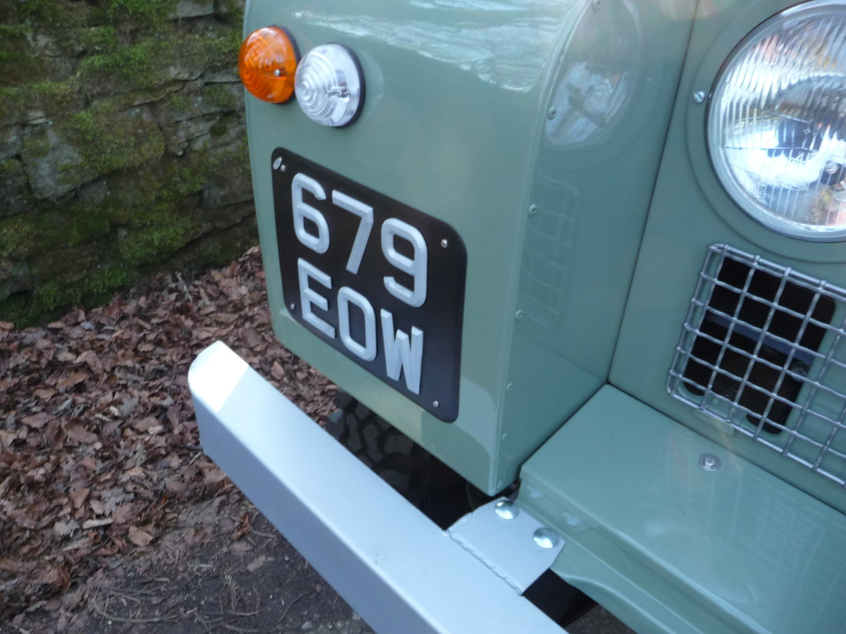 1963 LAND ROVER SERIES IIA – NUT AND BOLT REBUILD – GALV CHASSIS For Sale (picture 8 of 10)