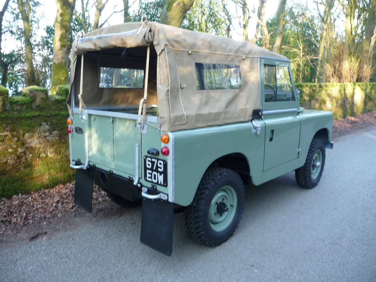 1963 LAND ROVER SERIES IIA – NUT AND BOLT REBUILD – GALV CHASSIS For Sale (picture 10 of 10)