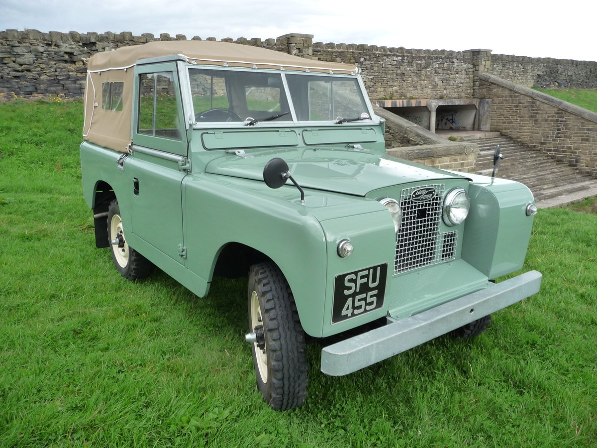 """1958 LAND ROVER SERIES 2 – """"MABEL"""" – FULLY REBUILT For Sale (picture 1 of 10)"""