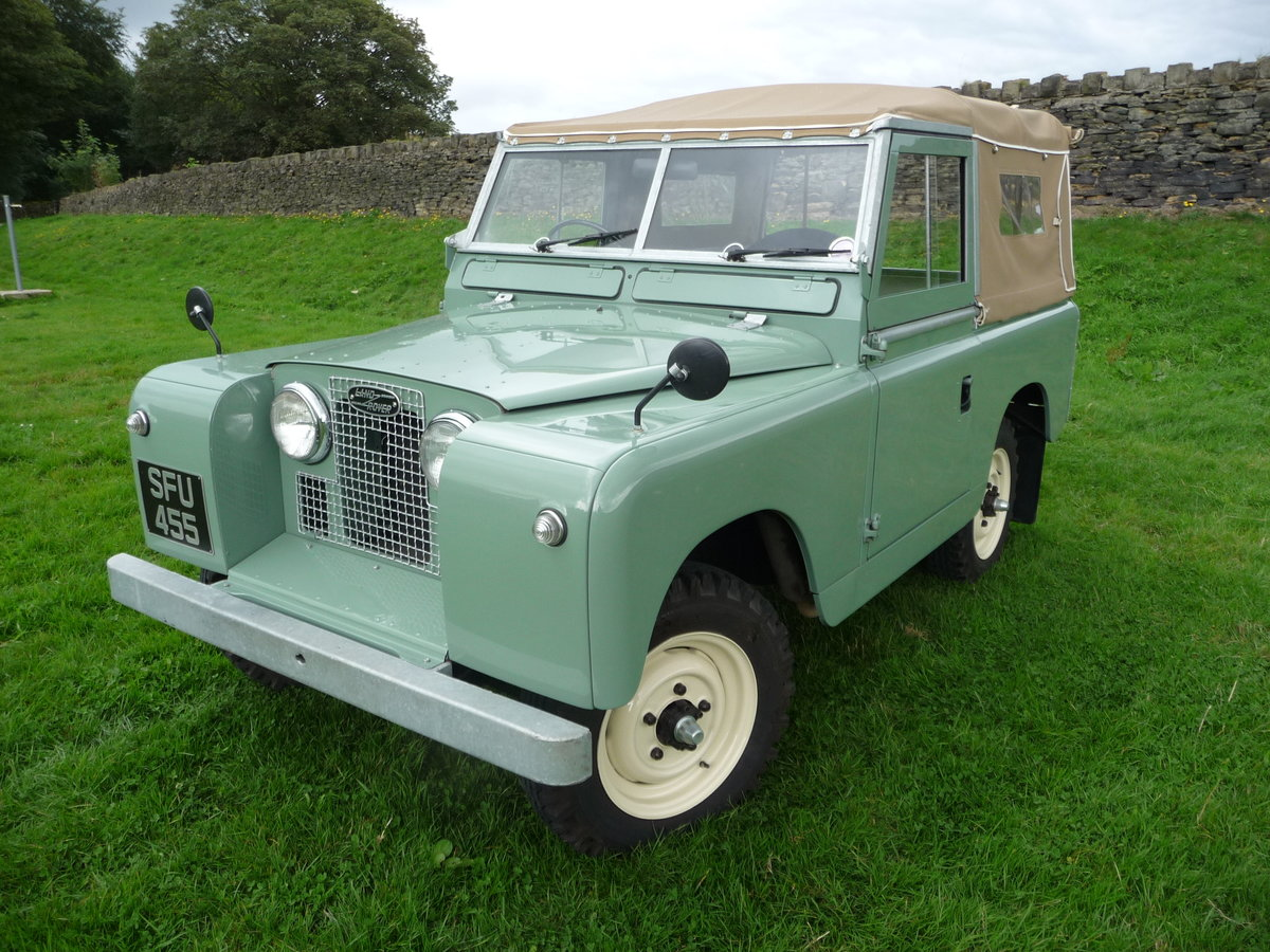 """1958 LAND ROVER SERIES 2 – """"MABEL"""" – FULLY REBUILT For Sale (picture 2 of 10)"""
