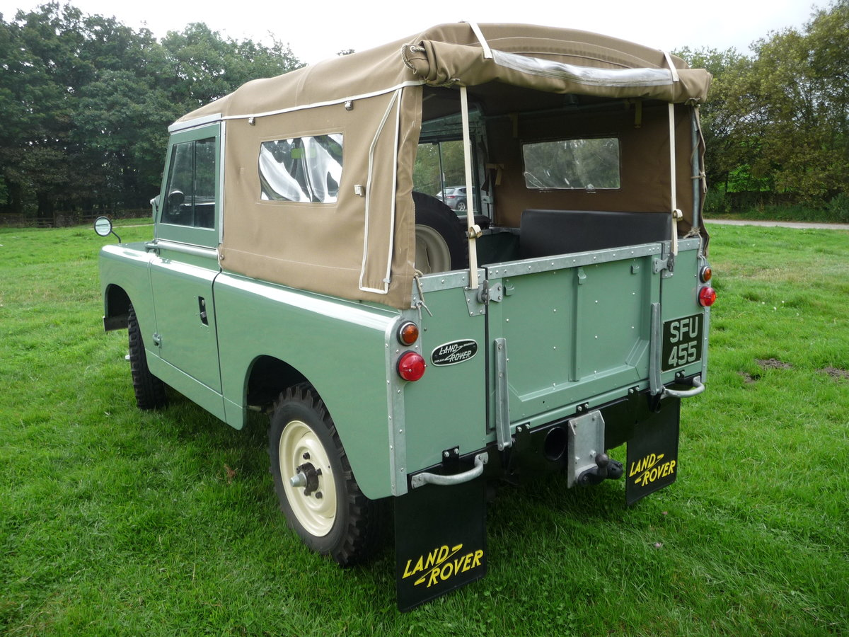 """1958 LAND ROVER SERIES 2 – """"MABEL"""" – FULLY REBUILT For Sale (picture 3 of 10)"""